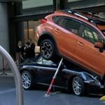 Úgy néz ki, mintha ezt a Porschét megmászta volna egy Subaru, pedig pont nem – videó
