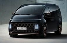 Űrkompszerű kisbuszt dob piacra Európában a Hyundai