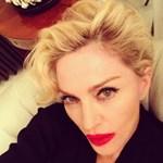 Fotó: fura dolog történt Madonna arcával