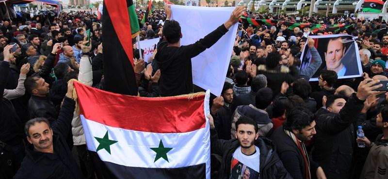 Putyin és Erdogan felszólítására tűzszünet lesz Líbiában