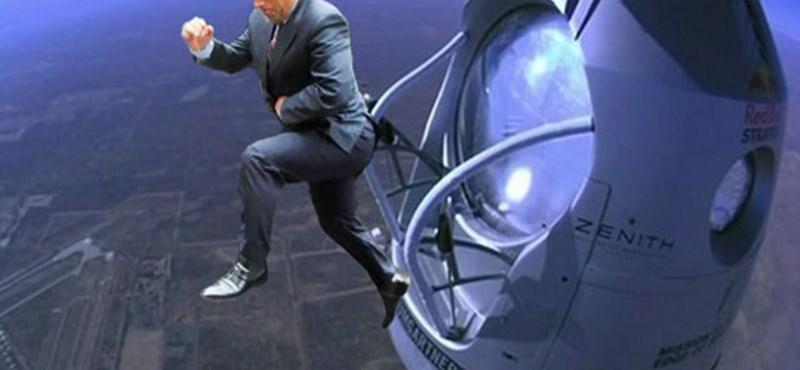 Orbán leugrik az űrből - Baumgartner-mém galéria