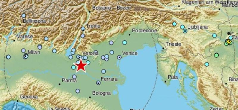 Olaszországban is megmozdult a föld a horvát földrengés után