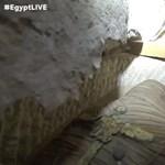 Élőben közvetítették, ahogy kinyitnak három egyiptomi szarkofágot – videó