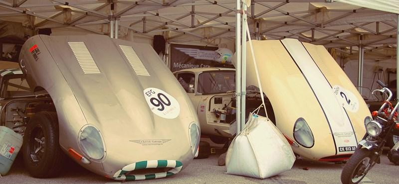 Amire Steve McQueen is kifújná a füstöt - képgaléria az elrajtolt Hungaroring Classicról