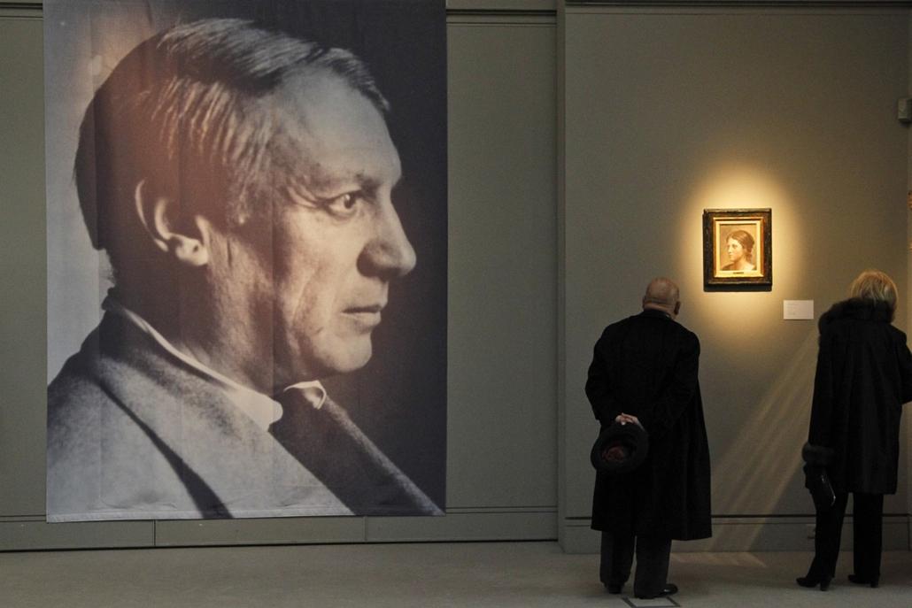 Sotheby's, London - tekintetek találkozása - Brassai (Halász Gyula) világhírű fényképész és Olga Pablo Picassotól.