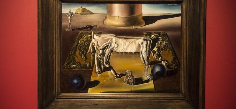 Közel százezren látták a Nemzeti Galéria hamarosan záró szürrealista kiállítását