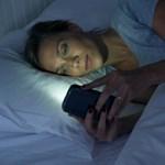 Váratlanul kiderült, hogy a kék fénynél jobban gátolja az elalvást a kék fény szűrése