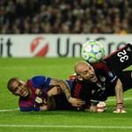 Kulcscsontját törte az FC Barcelona játékosa