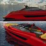 Négymillió dolláros motorcsónakot ihletett a LaFerrari
