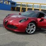 Alfa Romeo 4C: testközelből a WTCC új biztonsági autója