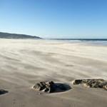 Fertőtlenítőszerrel fújtak végig egy spanyol tengerpartot