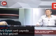 Élő adásban kapott szívrohamot egy török sportcsatorna műsorvezetője – videó