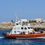 Helikopteren szülte meg gyerekét egy koronavírusos menekült