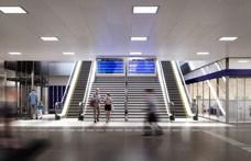 Év végén már új utascentrumban vehetjük a vonatjegyeket a Keleti pályaudvaron