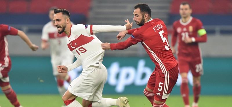 Magyarország-Törökország 2-0, csoportgyőztes a magyar válogatott