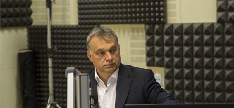 Orbán Viktor: a választás legnagyobb tétje a bevándorlás