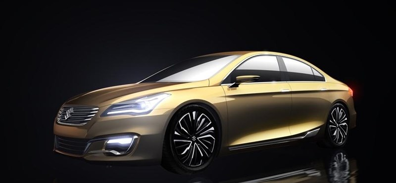 Fotók: ez lesz a legelegánsabb Suzuki