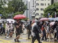 Az USA a hongkongi tüntetők mellé állt