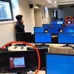 Ha ezt látja, baj van: ezt mutatja a számítógép, amikor megtámadja a hétvégét végigtomboló zsarolóvírus