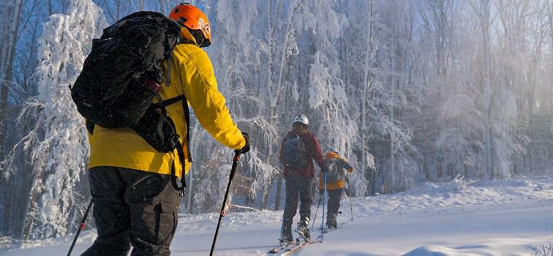 Hazai pálya: Azért megvan a hangulata annak, amikor az ember a szűz havat roppantja be!