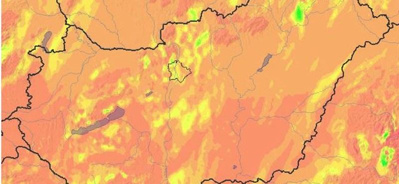 UV-sugárzás miatt adott ki figyelmeztetést a meteorológiai szolgálat