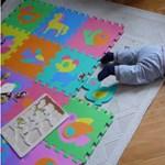A gyerekjátszószőnyegek kétharmada fulladásveszélyes