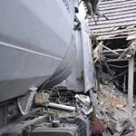 Az önkormányzat ad lakást a dabasi házaspárnak, akinek házát tönkretette egy kamion