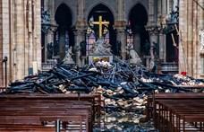 Ideiglenes fatemplomot állítanak a leégett Notre-Dame elé