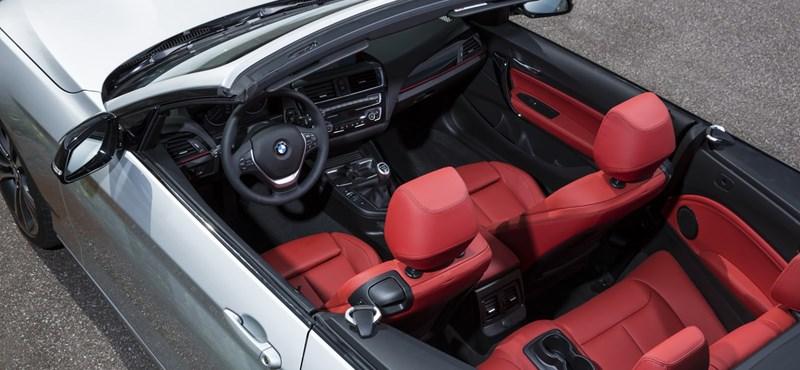 Megérkezett a BMW legkisebb kabriója
