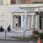 """""""Ez provokáció"""" – elítélték a bankrobbantást a hitelkárosultak"""