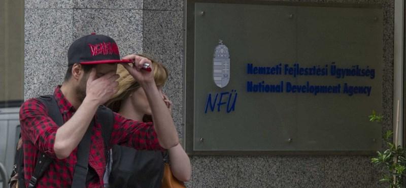 Gigatendert írt ki az NFÜ egy nappal a megszűnése előtt