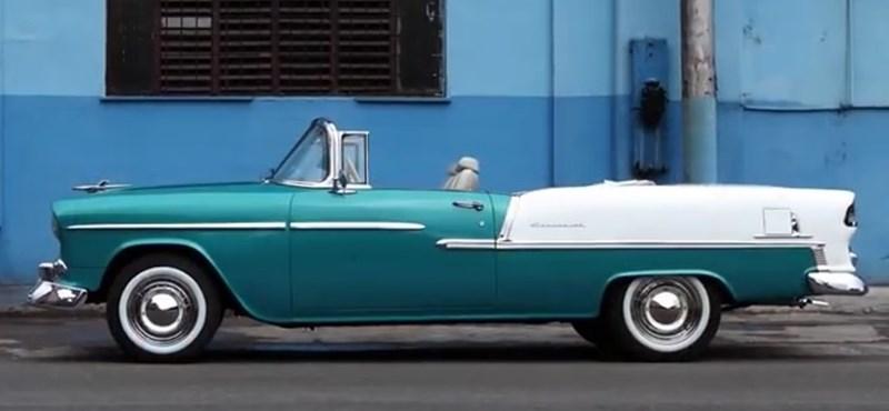 Videó: Kubában az utcán van az autómúzeum