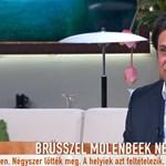 Deutsch a Tv2 kanapéján retteg tovább a Brüsszelt elfoglaló terroristáktól