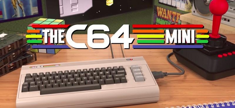 Egy álom válik valóra: ismét kiadják a legendás Commodore 64-et