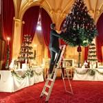 Amikor csillárok helyett fenyőfák lógtak - Karácsony a winsdori kastélyban