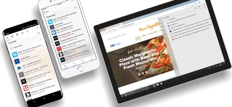 Hangosan olvas: hasznos funkció az iPhone-os Microsoft-böngészőben
