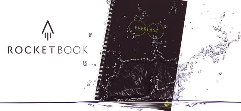 Itt a jegyzetfüzet, melybe tényleg mindent felírhat, mégsem telik be soha