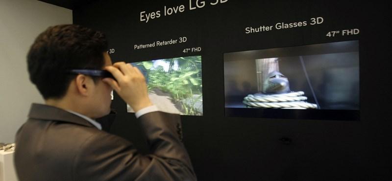 Háromdimenziós tévécsatorna indul Kínában újévtől