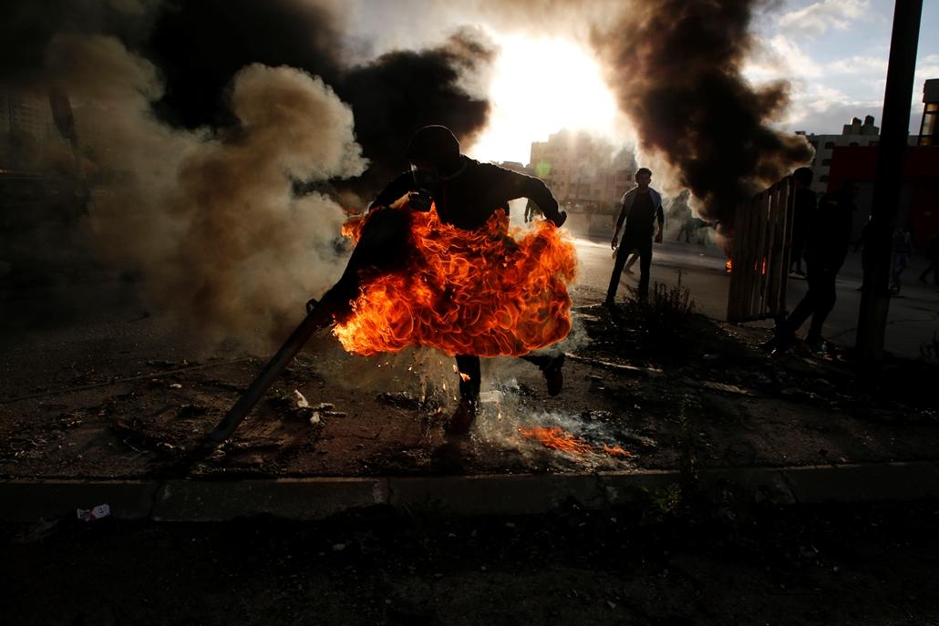 afp.17.12.07. - Tüntetés izraelben Jeruzsálem USA elfogadás