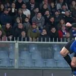 Ronaldo döbbenetes fejessel szerzett három pontot a Juventusnak – videó