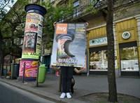 A HVG-plakátok megkeresték régi helyüket – galéria
