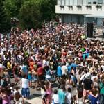 Képek: így zárták a tanévet a kazincbarcikai diákok