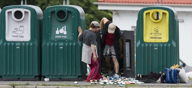 Uniós büntetést kaphatunk a szelektív hulladékgyűjtés hiánya miatt