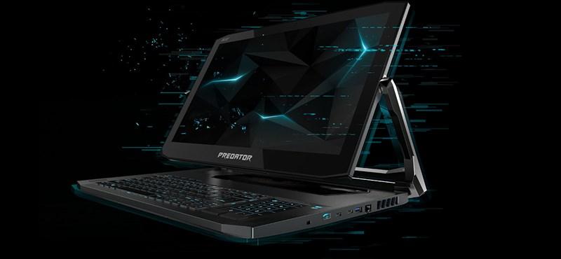 Sci-fi filmekben vannak olyan laptopok, mint amilyet most az Acer bemutatott