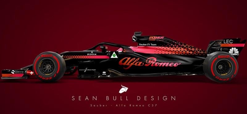 Már most kíváncsi a 2018-as F1-autókra? Mutatjuk őket, egész jól néznek ki