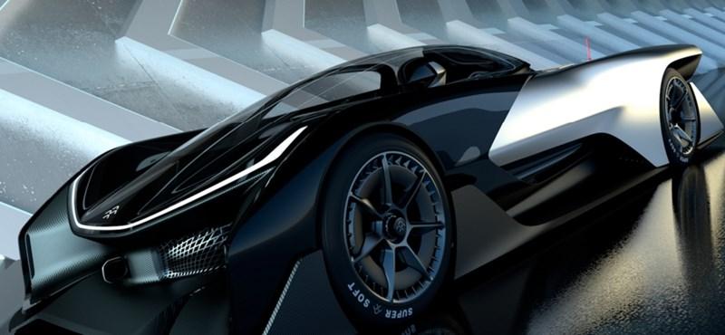 Itt a Faraday Future nagy dobása: jön a bővíthető akkumulátoros autók kora