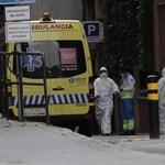 Koronavírus: 462 halott egyetlen nap alatt Spanyolországban