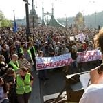 CEU-tüntetés: ha elfogadják a törvényt, ismét utcára vonulnak