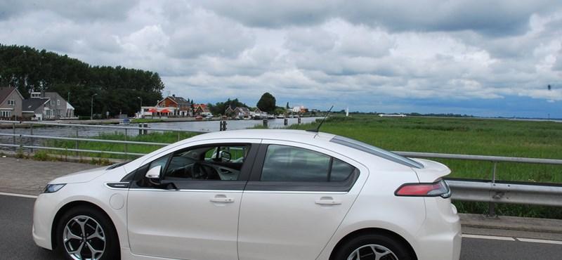 Opel Ampera teszt: 100 kilométer 1,4 liter benzinnel