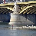 Ilyen alacsony vízállás még soha nem volt a Dunán, amióta mérik